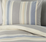 Organic Cotton Desert Stripe Twin Duvet Set
