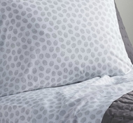 Organic Cotton Hedgehog Printed Twin Sheet Set