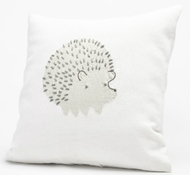 Coyuchi Linen Hedgehog Decorative Pillow