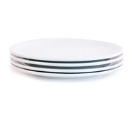 Bambeco Eco Brasserie Porcelain Dinner Plates - Set of 4