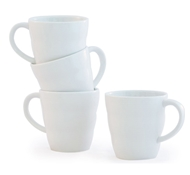 Brasserie Eco Porcelain Mug - Set of 4