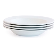 Brasserie Eco Porcelain Soup Bowl - Set of 4