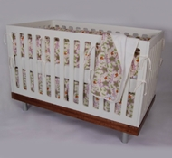 Garden Organic Cotton Crib Bedding + Blankets ($49- $194)