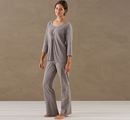 Women's Solstice Pajama Set in Slate
