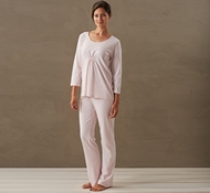 Women's Solstice Pajama Set in Camellia