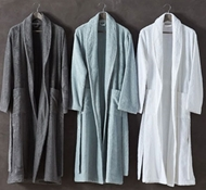 Coyuchi Organic Cotton Unisex Cloud Loom Robe