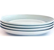 Dakota Porcelain Salad Plate - Set of 4 - Mist