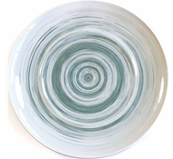 Dakota Porcelain Serving Platter - Mist