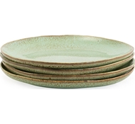 Farmstead Stoneware Salad Plate - Set of 4 - mint