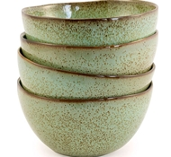 Farmstead Stoneware Cereal Bowl - Set of 4 - Mint