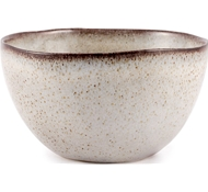 Farmstead Stoneware Salad Serving Bowl - Bisque