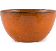 Farmstead Stoneware Salad Serving Bowl - Terracotta