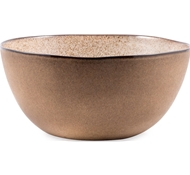 Farmstead Stoneware Salad Serving Bowl - Mushroom