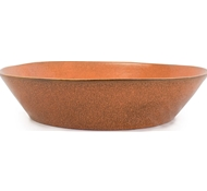 Farmstead Stoneware Pasta Serving Bowl - Terracotta