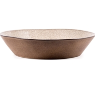 Farmstead Stoneware Pasta Serving Bowl - Mushroom