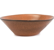 Farmstead Stoneware Large Serving Bowl - Terracotta