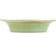 Farmstead Stoneware Large Oval Baker - Mint