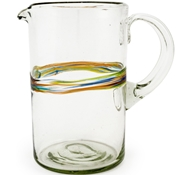 Rainbow Recycled Pitcher