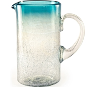 Maya Recycled Pitcher - Aquamarine