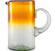 Maya Recycled Pitcher - Amber