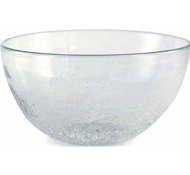 Maya Recycled Glass Bowl - Clear