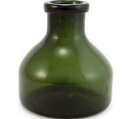 Recycled Glass Verde Vase - Large