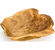 "Root Wood Bowl – XLarge - 18"" L x 18"" W x 4"" H"