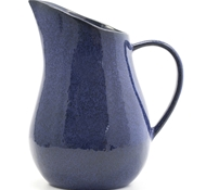 Farmstead Stoneware Pitcher - Indigo