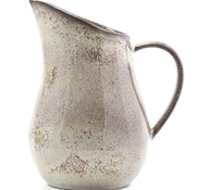 Farmstead Stoneware Pitcher - Bisque