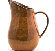 Farmstead Stoneware Pitcher - Terracotta