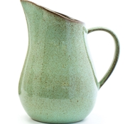 Farmstead Stoneware Pitcher - Mint