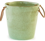 Farmstead Stoneware Wine Cooler - Mint