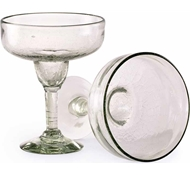 Maya Recycled Margarita Glass - Set of 2 - Clear