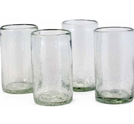 Maya Recycled Pint Glass - Set of 4 - Clear