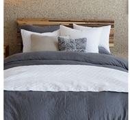 Chevron Organic Cotton Sham and Coverlets