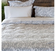 Emma Paisley Cloud Organic Cotton Duvet Covers and Shams