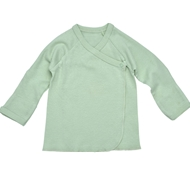 Ultimate Green Baby Organic Cotton Long Sleeve Baby Tee - Sage