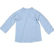 Ultimate Green Baby Organic Cotton Long Sleeve Baby Tee - Ice Blue