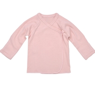 Ultimate Green Baby Organic Cotton Long Sleeve Baby Tee - Blush
