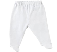 Ultimate Green Baby Organic Cotton Baby Pants - Off White