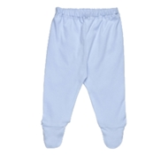 Ultimate Green Baby Organic Cotton Baby Pants - Ice Blue