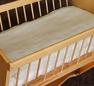Ultimate Green Baby Wool Cradle & Bassinet Mattress Protector