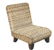 Abaca Slipper Chair by Padma's Plantation