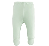 Organic Cotton Footed Pant - Green