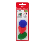 Faber-Castell Grip Erasers - Package of 3