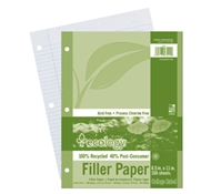 Pacon Ecology Recycled Filler Paper - College Rule