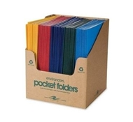 Assorted Color Pocket Folder 25-pack