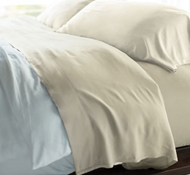 Cariloha Resort Bamboo Bed Sheets - Ivory