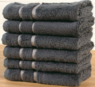 Bamboo Washcloths (Set Of 3) - Graphite