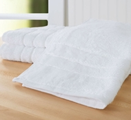 Bamboo Hand Towel (Set Of 3) - White